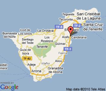 Tu Municipio Candelaria Cabildo De Tenerife - Candelaria map