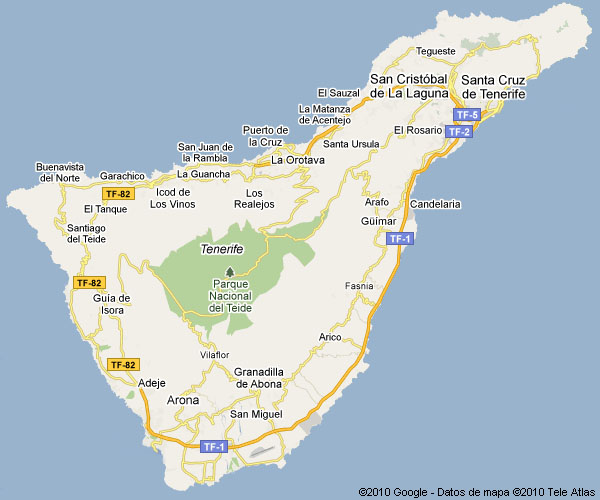 Tu Municipio Ayuntamientos De La Isla De Tenerife Cabildo De