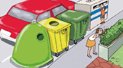 Each type of waste in the corresponding container - Sometimes, when you take the rubbish to the containers that are closest to your home, you find that you don¿t know which container to use for certain waste products. Clear up any doubts you have and aid the recycling process by using the correct container.